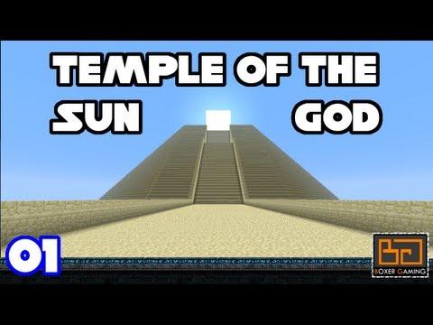 01 :: Temple Of The Sun God :: SMP Adventure Map :: MineCraft