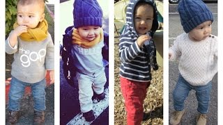Fall/Winter Lookbook - Outfits Ideas for Toddlers (Baby Boy) | SohnBeardenTV
