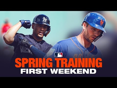 Best of Spring Training's first weekend