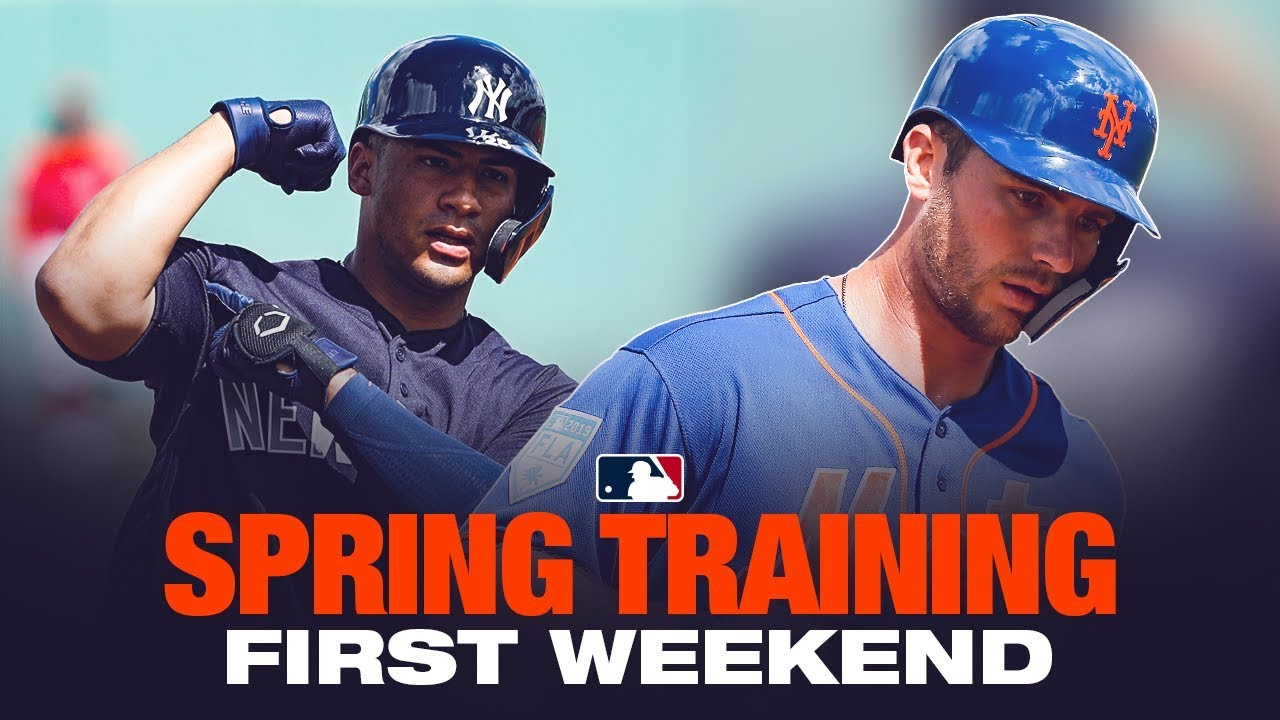d72f63bff899b4 Best of Spring Training's first weekend - YouTube