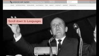 Video William Branham messages in different languages download MP3, 3GP, MP4, WEBM, AVI, FLV Oktober 2018