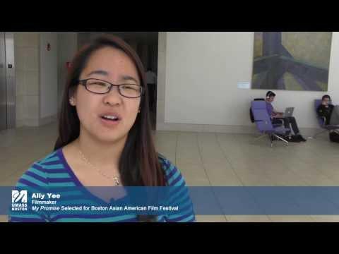 UMass Boston Student in Boston Asian American Film Festival