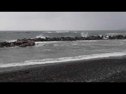 Mareggiata Chiavari (GE) 28/02/2017