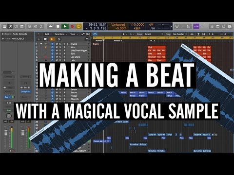 Making A Beat And Adding A Vocal Sample