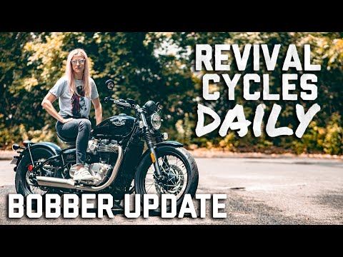 Bobber Bonneville Update I // Revival Daily 87