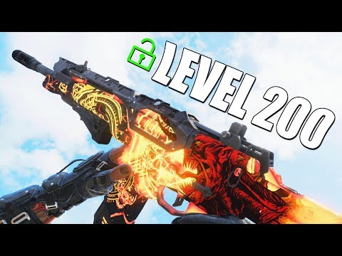 DIE ULTRA ICR-VARIANTE (LEVEL 200) in BLACK OPS 4