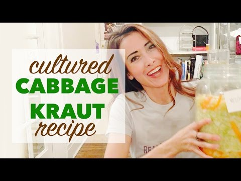 How to Ferment Foods | Fermented Cabbage Benefits Gut Health