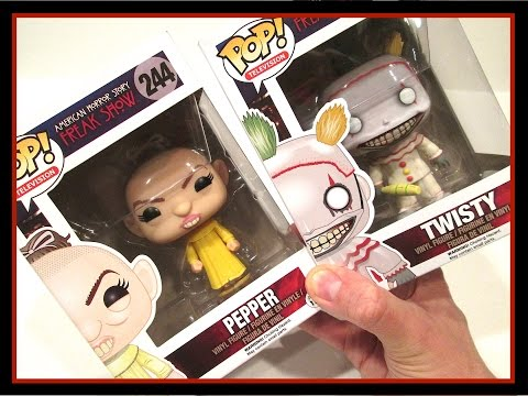 FUNKO POP VINYL FIGURES - AMERICAN HORROR STORY - FREAK SHOW - TWISTY & PEPPER - REVIEWS