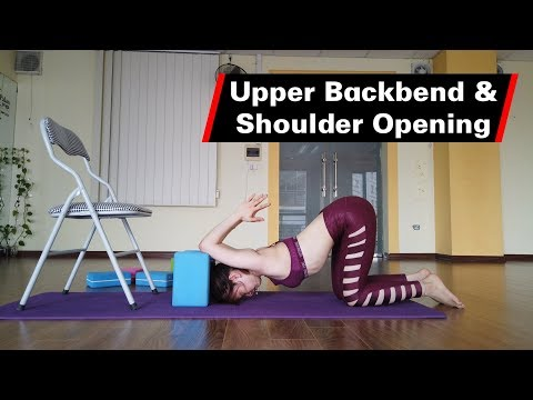 Upper Back and Shoulder opening Yoga Technique - Part 1 with Raja Gupta   Yograja