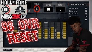 NBA 2K17 RONNIE 2K RESETTING PLAYERS AGAIN !!! 98 OVERALLS ARE GONE !!!