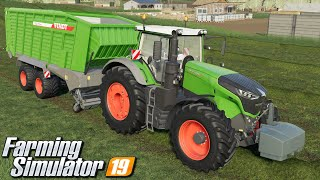 Zbieranie trawy - Farming Simulator 19 | #87