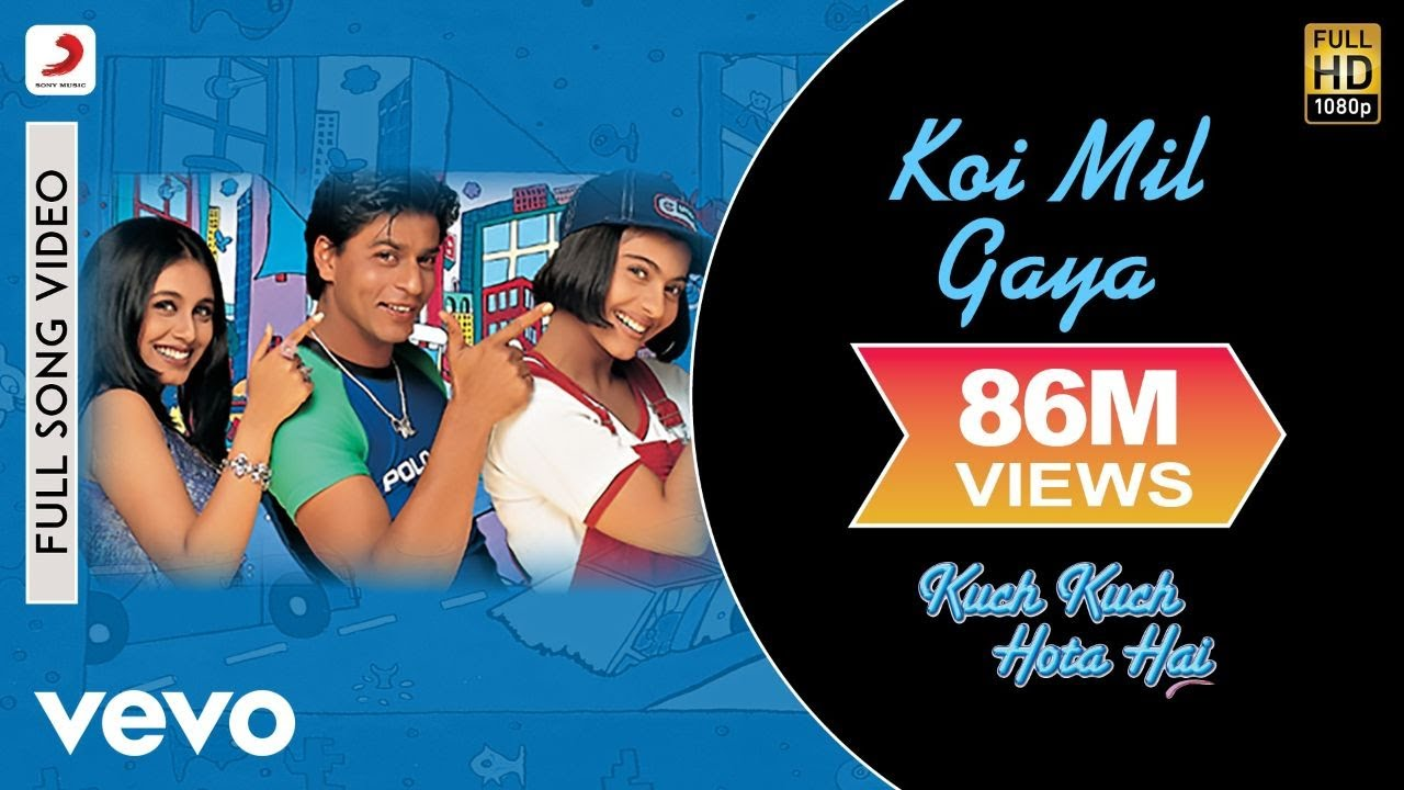 Download Koi Mil Gaya Full Video - Kuch Kuch Hota Hai Shah Rukh Khan,Kajol, Rani Udit Narayan