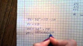видео Задача с решением по экономике. Формулы по экономике для решения задач