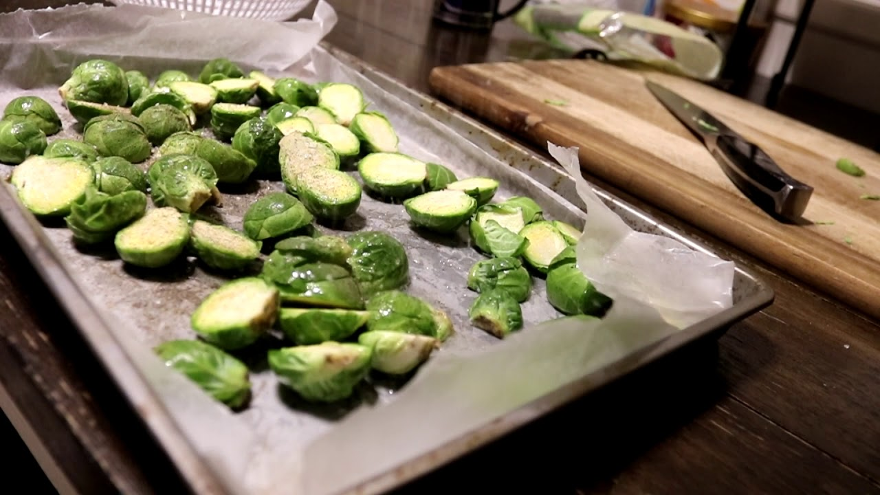Veganuary S2E6 How to Make Roasted Brussel Sprouts