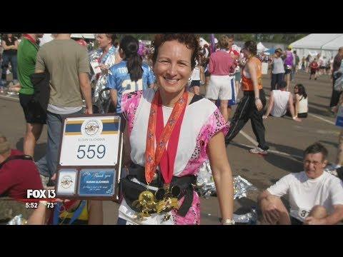 Tampa woman runs every Disney Marathon