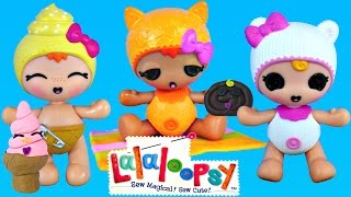 LALALOOPSY Naming and PLAY DOH Matching Treats Playdough Ice Cream Helado de Plastilina
