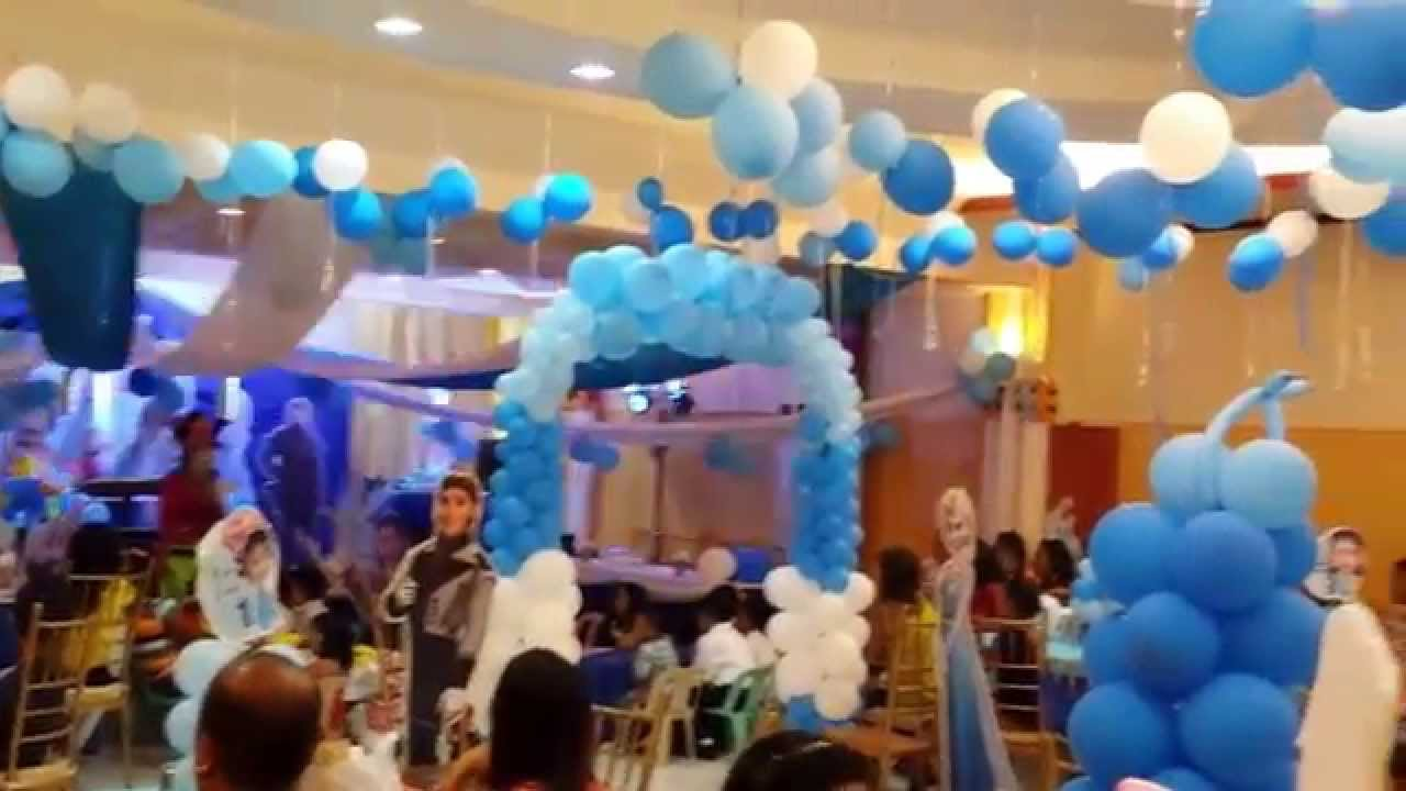 Frozen themed birthday party by vg catering and balloons 2 youtube