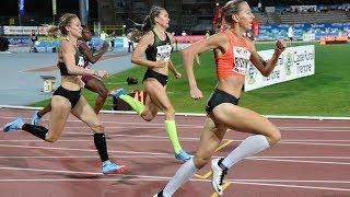 Women's 400m Hurdles Series 2 at Palio Citta della Quercia 2018