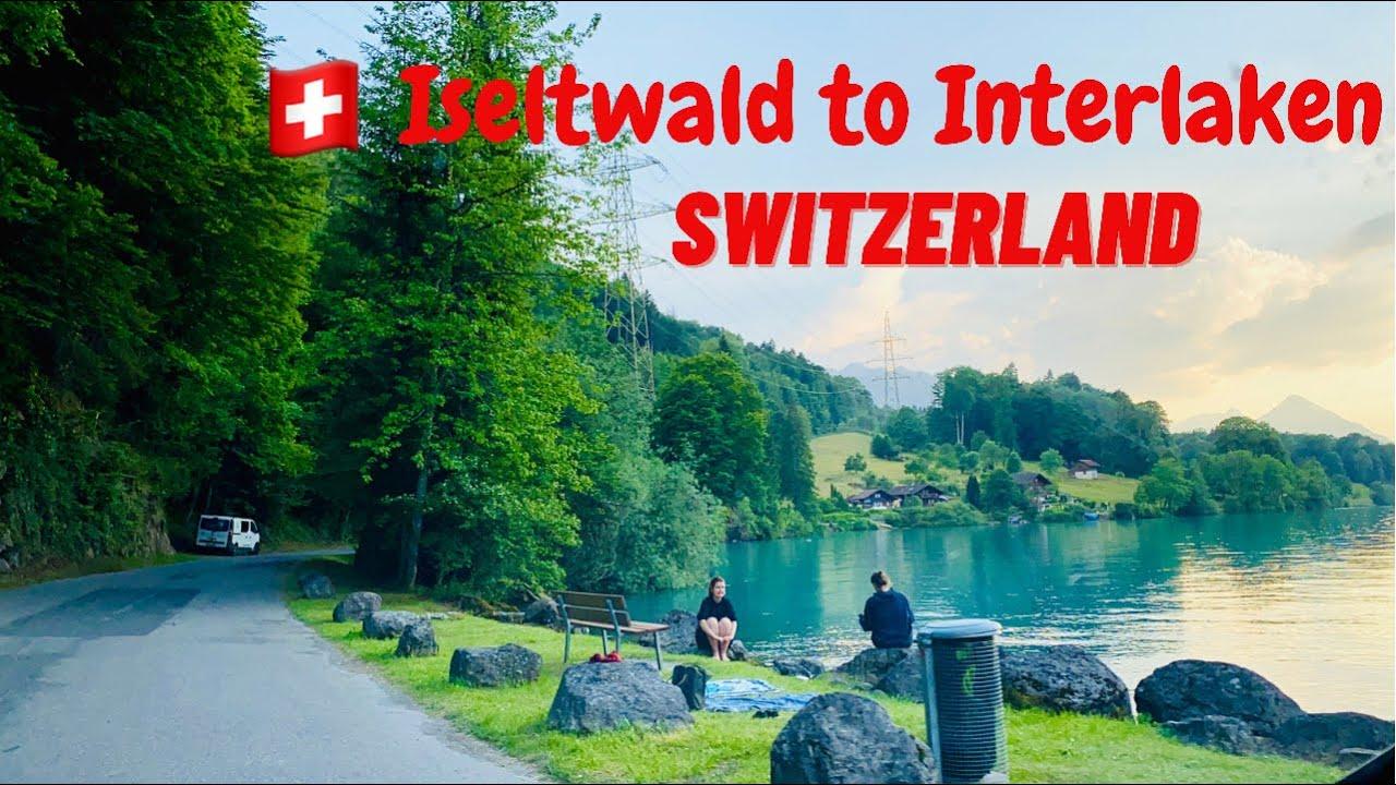 Iseltwald to Interlaken road trip ! Breathtaking View of Switzerland , swiss view ☘️