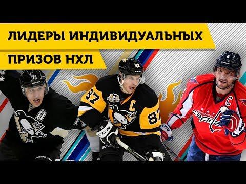 ХОККЕИСТЫ НХЛ с НАИБОЛЬШИМ ЧИСЛОМ ИНДИВИДУАЛЬНЫХ НАГРАД