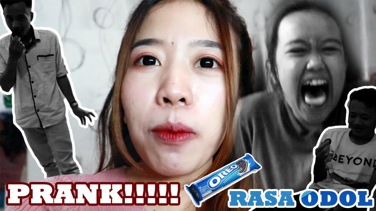 PRANK adik makan OREO rasa ODOL !!! | PRANK LUCU