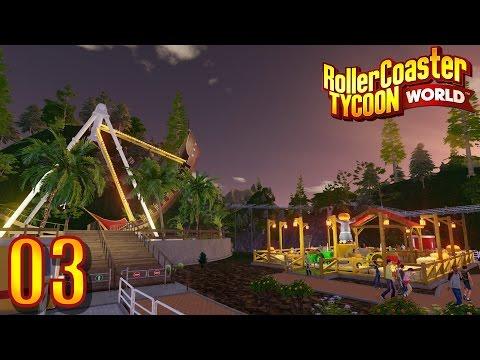 """RollerCoaster Tycoon World #03 """"Credits und Parkthema"""" ★ Let's play HD deutsch"""
