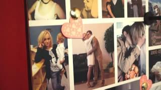 Лав Стори коллаж на годовщину свадьбы оригинальный подарок FotoDoski