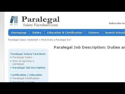 what are the job duties of a patent paralegal - Ip Paralegal Job Description