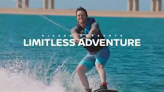 Nissan Super Safari presents Limitless Adventure with Max of Arabia Wakeboarding