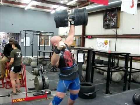 Strongman Training @ Brute Strength Gym - Jan 2012