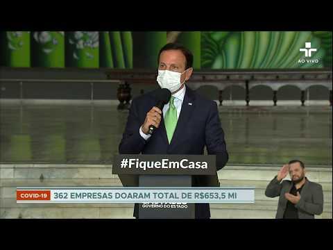 João Doria Anuncia Antecipação De Feriados Como Medida No Combate Ao Coronavírus