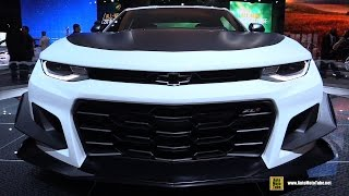 2018 Chevrolet Camaro ZL1 1LE Track Package - Walkaround - Debut at 2017 New York Auto Show