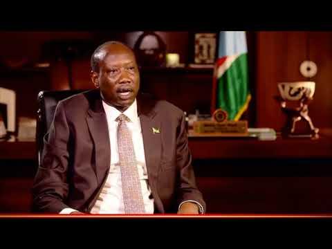 The Rise of President Salva Kiir Mayardit .