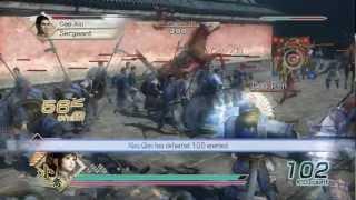 Dynasty Warriors 6 - Xiao Qiao Gameplay