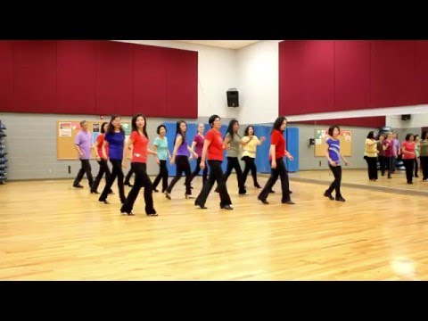 There Goes My First Love - Line Dance (Dance & Teach in English & 中文)
