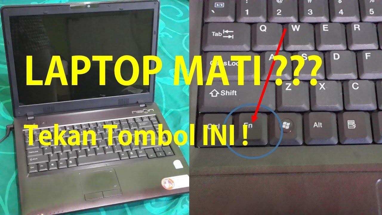 Servis Laptop Cara Mudah Menghidupkan Laptop Mati Youtube