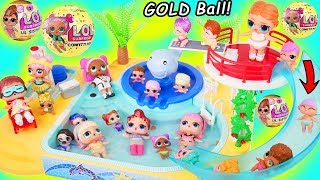 LOL Surprise! Dolls Opening GOLD Confetti Pop Ball!