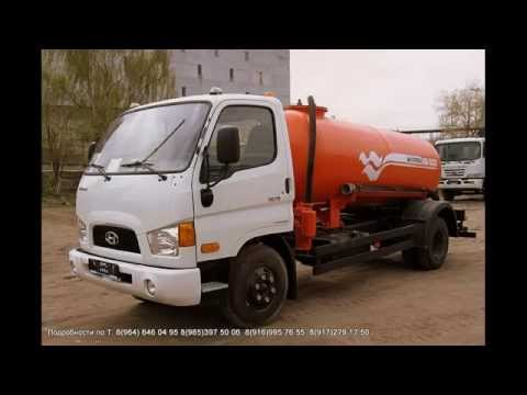 ПРОДАМ АССЕНИЗАТОРСКАЯ МАШИНА КО 522Г Объем 4,0 куб  м НОВАЯ ш HyundaiHD 78 2011г вЦена 1 250тр