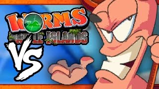 VS MODE: Worms: Battle Islands - The Game is Mine! (Part 3) (4-Player)
