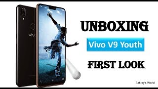 "Unboxing Vivo ""V9 YOUTH"" & First Look & also known as Y85 in China only"