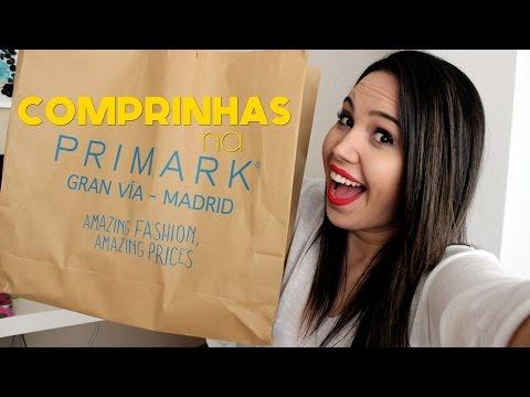 COMPRINHAS NA PRIMARK - Gran Via | Kauany Santos
