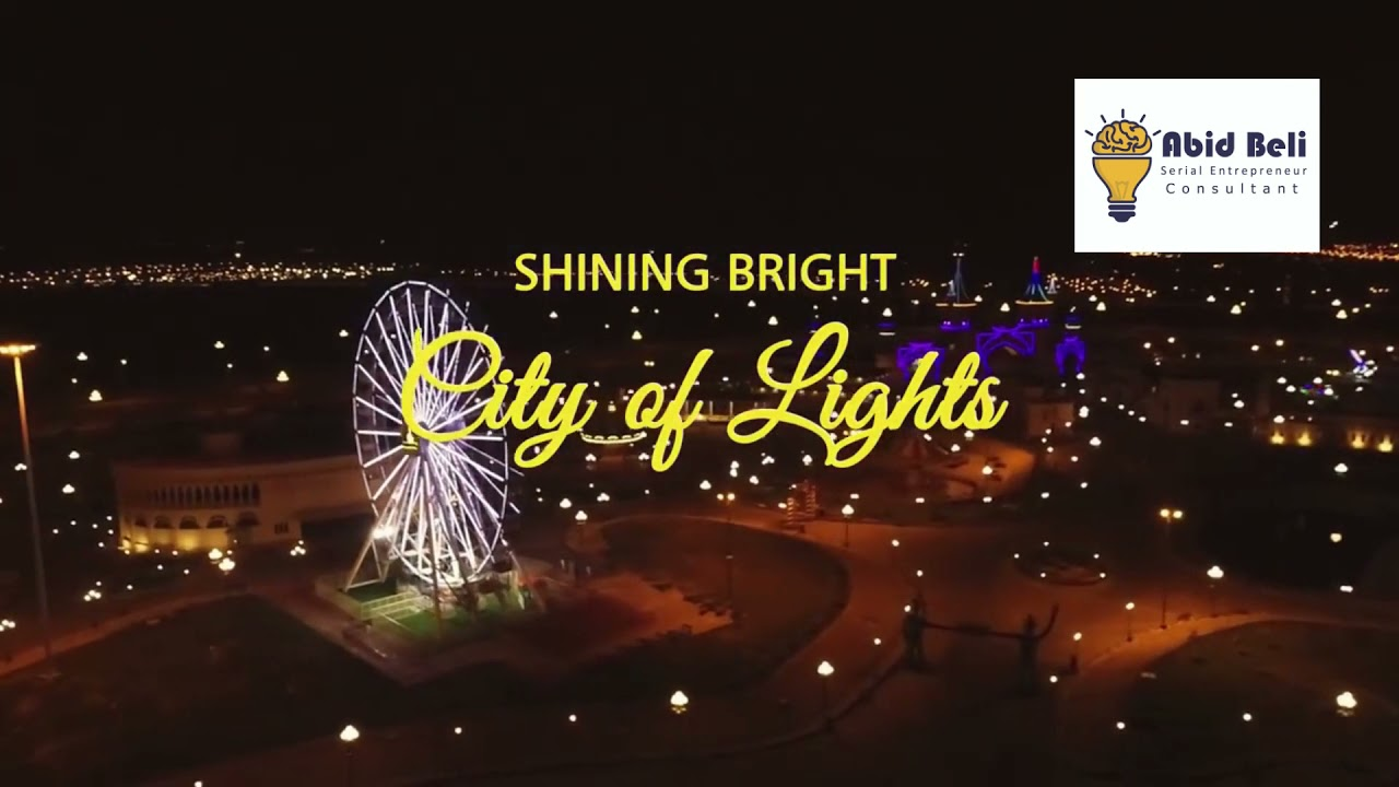 Bahria Town Karachi - City of Lights, Shining Bright.