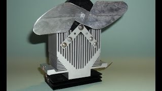 Diy Woodstove Fan Unit Using A Peltier Module