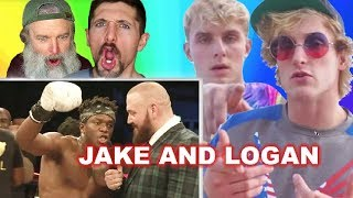 Baixar KSI Calling Out Jake and Logan Paul After Fight (Gay Guys REACT)