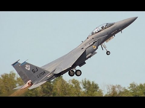 F-15 JETS SCRAMBLED as Russian Military Su-30 Jets approach Europe