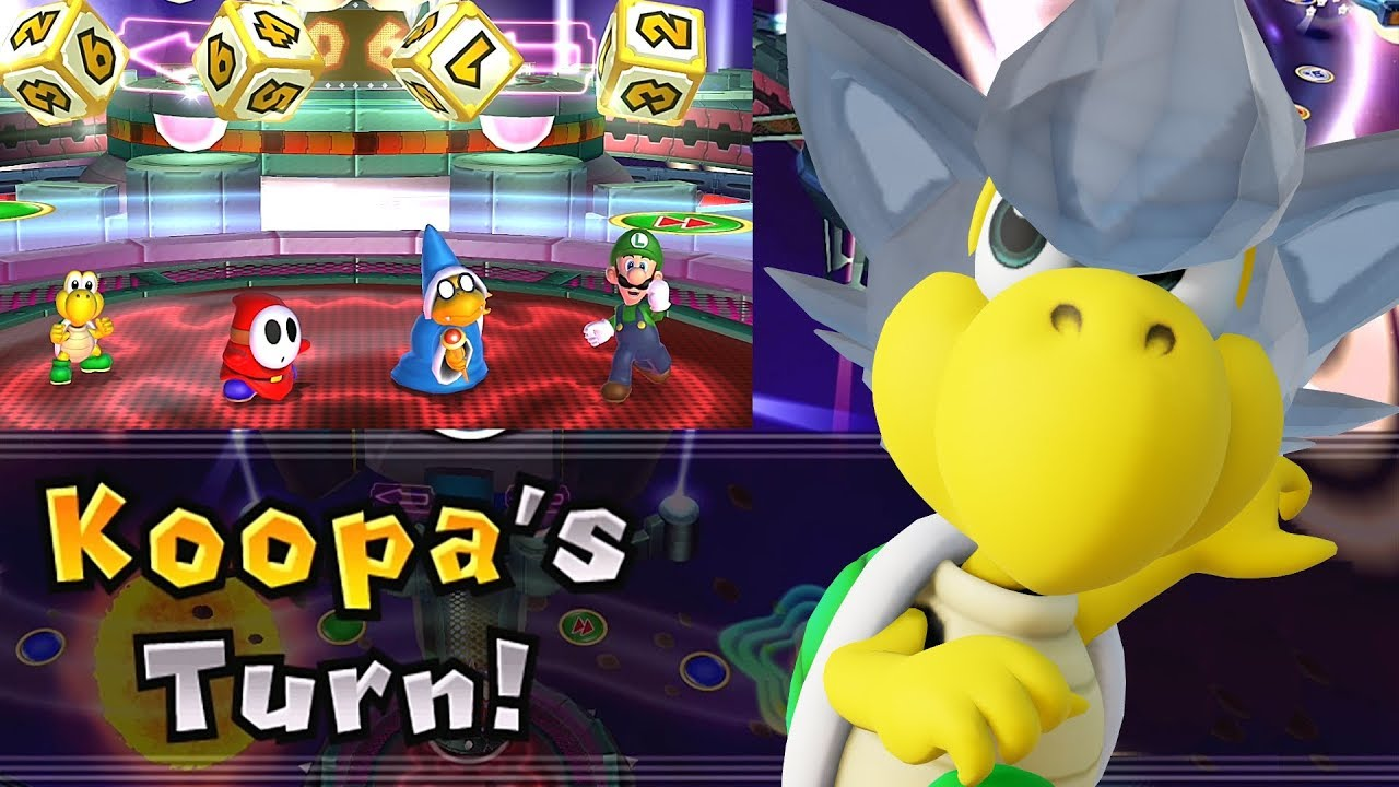 Mario Party 9 Solo Mode Koopa Bowser Station Part 6 395 Youtube