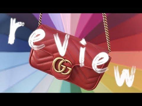 cdfa5dcfc1af Gucci Marmont Super Mini Review | Zoiilian - YouTube