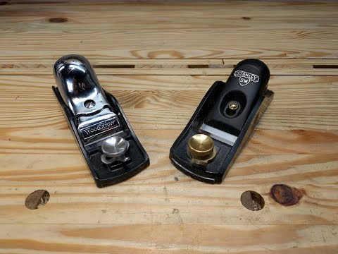 2018 WoodRiver Vs. Stanley Sweetheart Low Angle Block Plane Comparison and Review