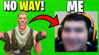 I Face Revealed To My Biggest Fan.. - Fortnite