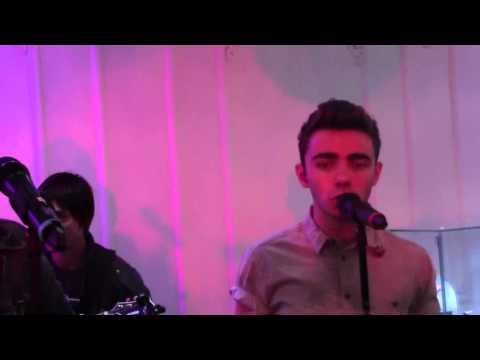 The Wanted I Found You Secret Gig in Scotland 9/9/13.
